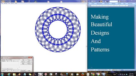 logo pattern commands making stars and beautiful design with logo part 5