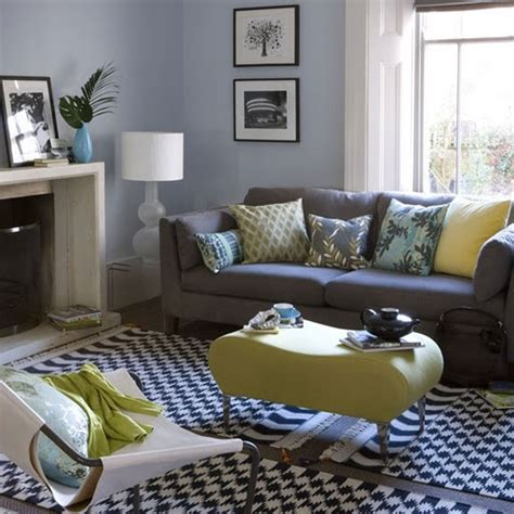 Blue Colors For Living Room by Yellow Gray Color And Color Combinations On