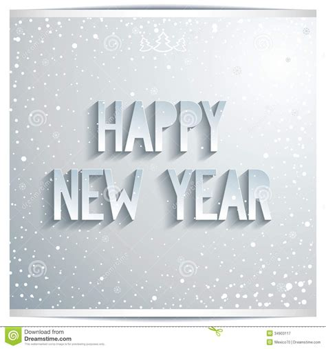 happy  year white lettering  grey background stock image image  christmas grey