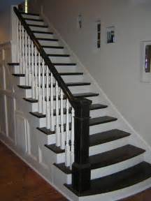 black staircase stairs white and black stairs and flooring