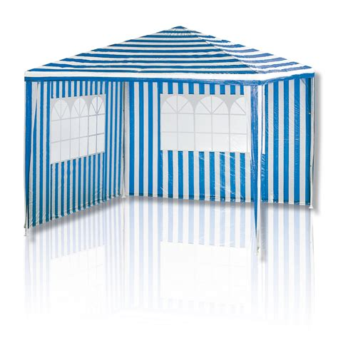 pavillon blau pavillon blau wei 223 mit fenstern pavillons