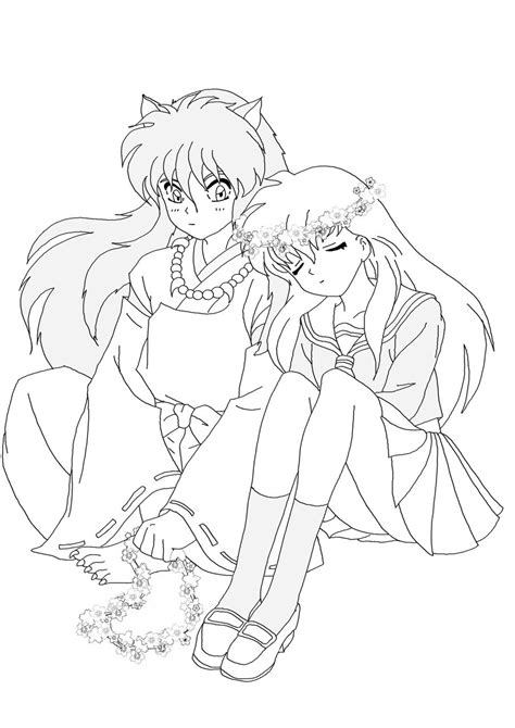 free ffcbeeccefdddaddd on manga coloring pages on with hd resolution inuyasha and kagome coloring pages coloring pages