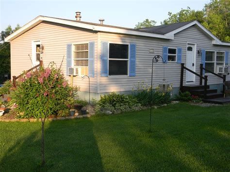 mobile home yard design landscaping ideas for mobile homes mobile manufactured home living