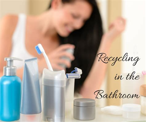 bathroom recycling recycling beauty products in the bathroom amazon gift