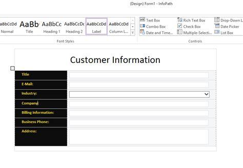 microsoft infopath form templates microsoft infopath form templates image collections