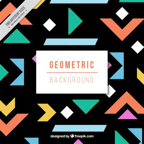 pattern recognition geometric shapes geometric shapes pattern vector free download