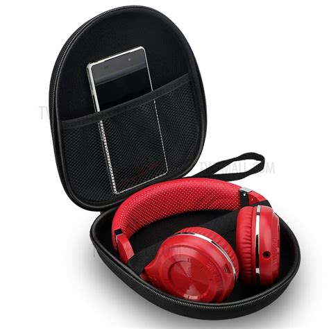 Promo Shape Storage Carrying Bag For Earphones Black portable zippered shaped earphone headphone earbud