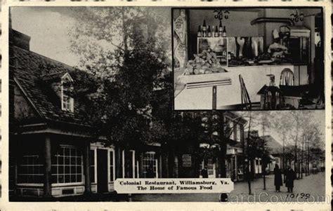 colonial restaurant williamsburg va