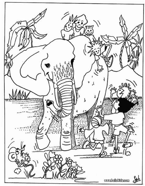 african cats coloring pages kinder mit elefant zum ausmalen zum ausmalen de