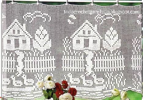 patrones cortinas ganchillo cortinas en crochet filet 4 patrones gratis todo crochet
