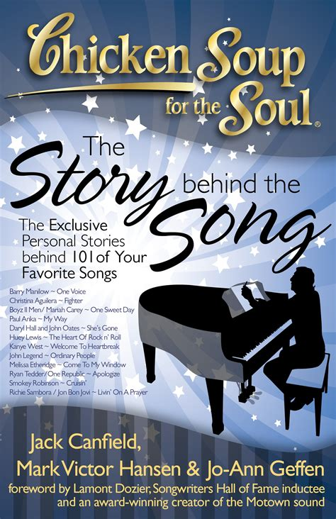 stories for the soul an anthology books chicken soup for the soul the story the song