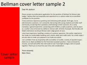 Resume Questions To Ask by Bellman Cover Letter
