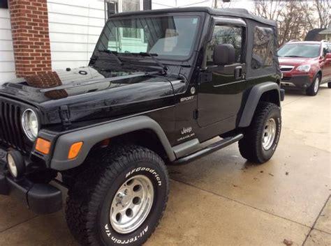 Jeep Wrangler For Sale In Ohio 2005 Jeep Wrangler For Sale In Dayton Ohio 14 000
