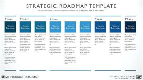 strategy document template free strategic planning templates