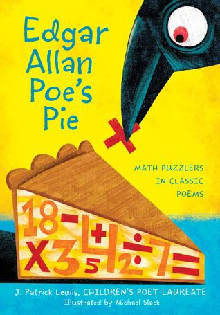 edgar allan poe s pie math puzzlers in classic poems by j