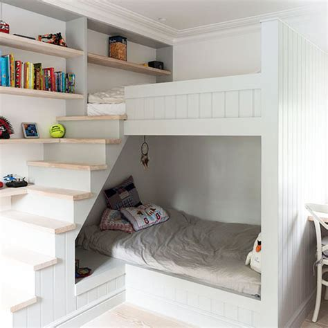 Small Childrens Bunk Beds Small Children S Room Ideas Ideal Home