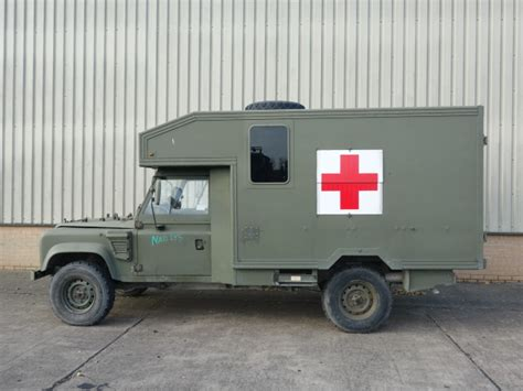land rover defender ambulance for sale land rover 130 defender wolf lhd ambulance for sale