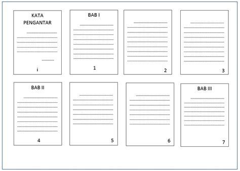 praktis membuat nomor halaman beda format  satu file