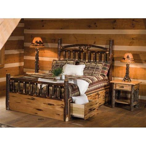 Cheap Log Bed Frames Log Bed Frame King Log Bed Frames Classic Cedar Log Bed Image 1 Western Room Furniture Decor S