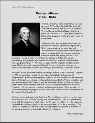 presidential biography reading list biography about thomas jefferson biography u s