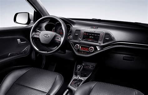 Kia Picanto Dashboard Lights Official Pictures Of The Refreshed 2015 Kia Picanto