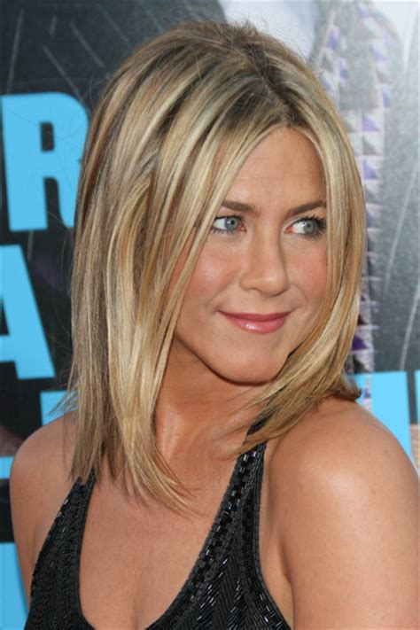jennifer aniston steps out with new blond bangs while celebrity hairstyles haircut ideas jennifer aniston