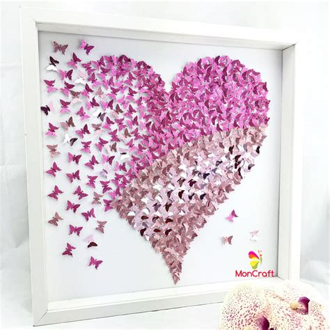 How To Make Paper Butterfly Wall Decor - paper butterfly 3d butterfly wall butterfly