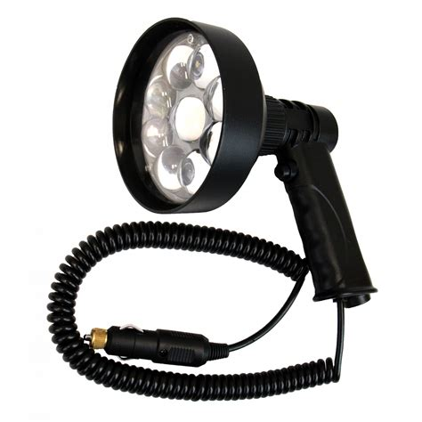 hand held spot light amazon outdoor outfitters night saber handheld 150mm 36w led 3500