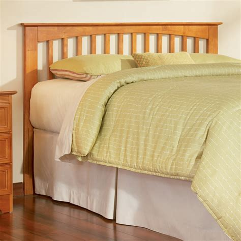 104 50 mission slat headboard caramel latte