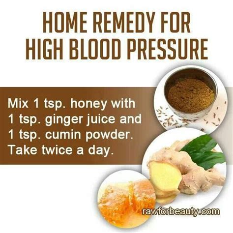 home remedy for high blood pressure home remedies for