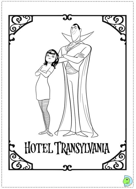hotel transylvania coloring pages free hotel transilvania coloring pages