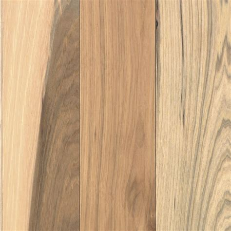 shop allen roth 3 25 in w prefinished hickory hardwood flooring country natural hickory at