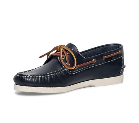 chaussure bateau tbs bleue bleu marine