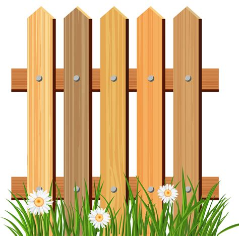 fence clipart lawn clipart fenced yard pencil and in color lawn