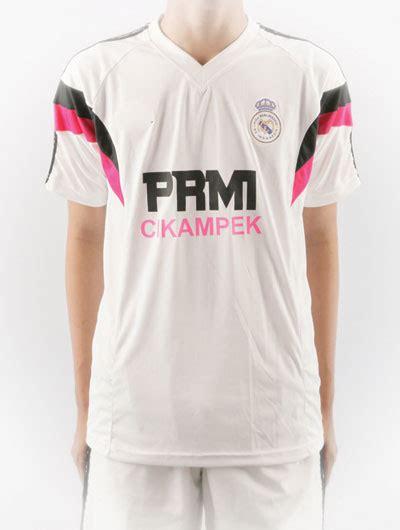 Baju Bola Real Madrid Warna Pink baju bola team prmi cikarang
