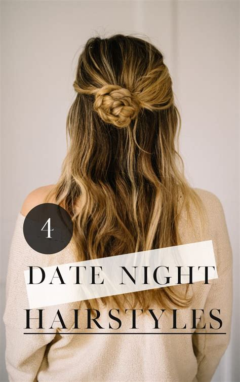 Date Hairstyles by 4 Easy Date Hair Styles For Busy Lynzy Co