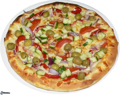 vegetable pizza i recipe dishmaps