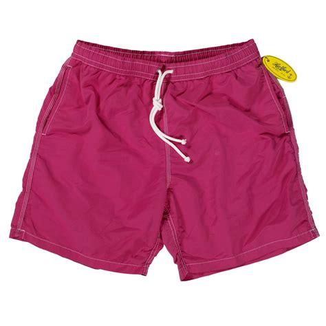 swim trunks hartford pink mid length swim shorts