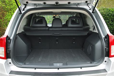 jeep compass trunk jeep compass estate 2011 2015 features equipment and
