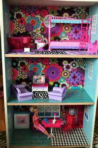cheap barbie doll houses one day ill do this why spend tons of money on a doll house when u can make one urself