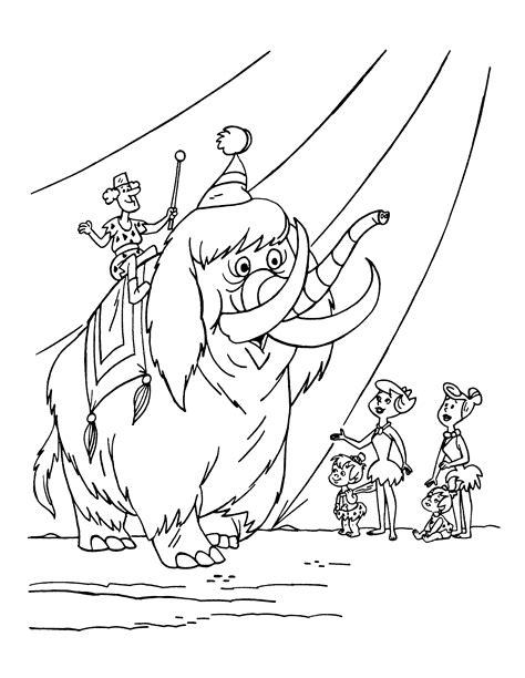 flintstones coloring pages coloringpages1001 com