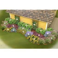 Flower Garden Planner Side Of Garage Garden 4 Ways