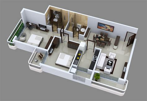 home interior design for 2bhk maharaja infra