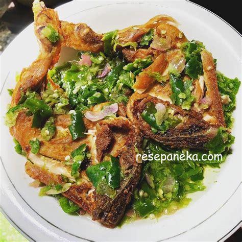 resep   memasak ayam batakok lado mudo ayam geprek