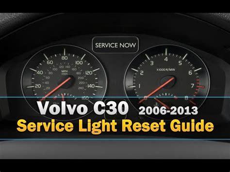 reset l200 service light volvo c30 service light reset youtube