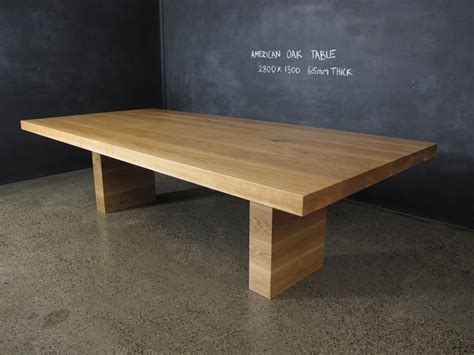 american oak dining table christian cole furniture