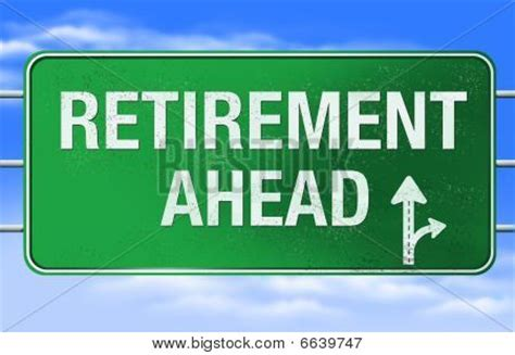 printable retirement road signs retirement road sign image photo bigstock
