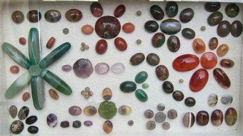 batu buton aneka motif brilliant batu mulia hobby koleksi batu mulia gemstone