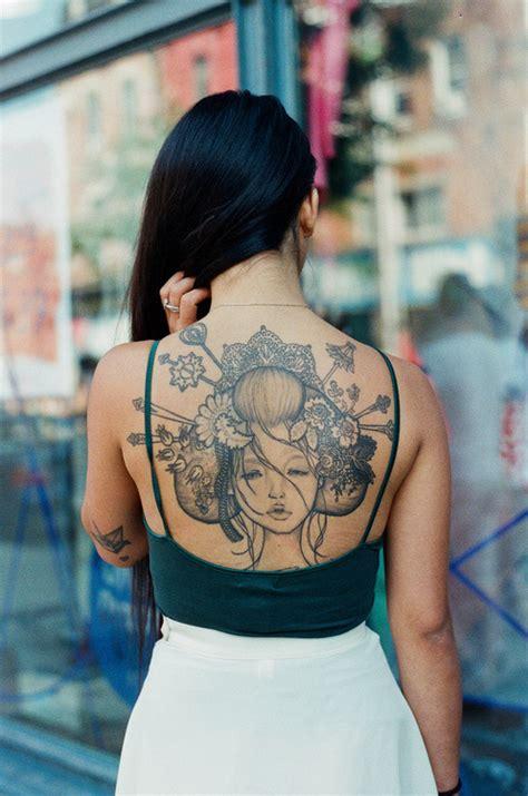 geisha girl tattoo tumblr tattoos geisha girl image 704561 on favim com