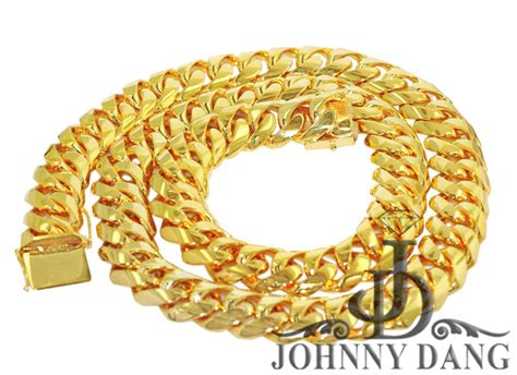 Handmade Cuban Link Chain - cny0013 custom cuban link chain johnny dang co